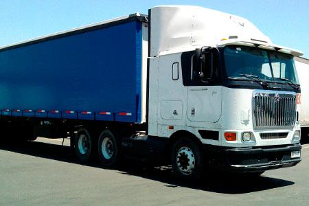 Transporte de cargas paletizadas