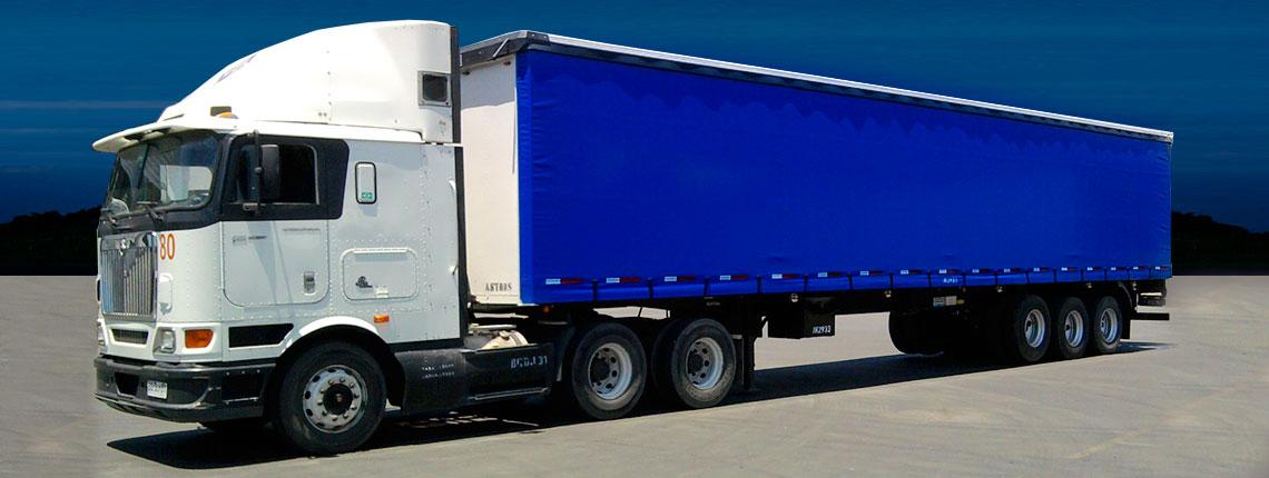 Servicios transporte carga paletizada
